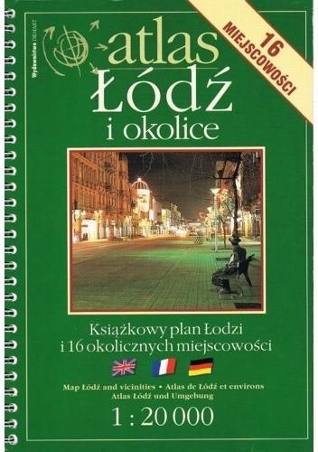 Okładka książki Atlas. Łódź i okolice