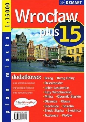 Okładka książki Wrocław plus 15