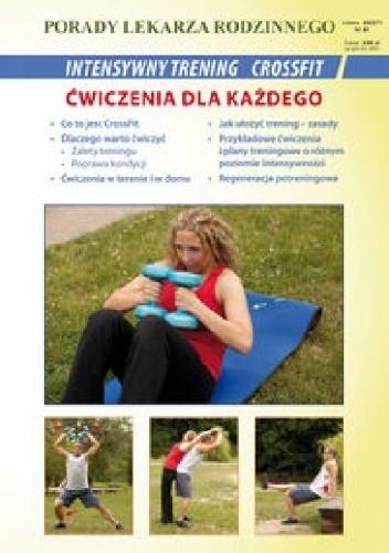 Okładka książki Intensywny trening CrossFit. Ćwiczenia dla każdego