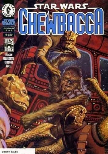 Okładka książki Star Wars: Chewbacca #2