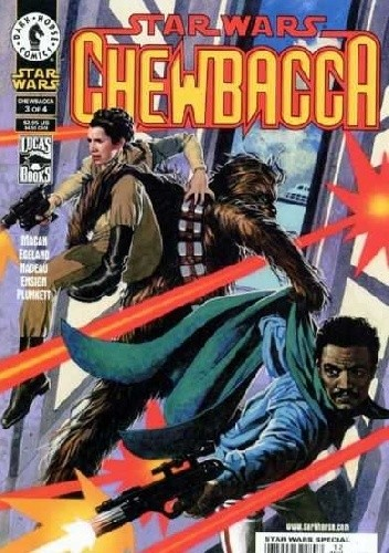 Okładka książki Star Wars: Chewbacca #3