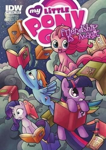 Okładka książki My Little Pony: Friendship is Magic #15