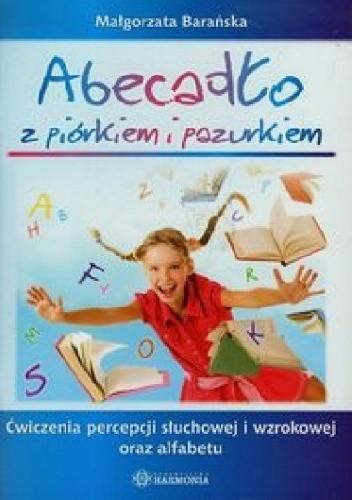 Okładka książki Abecadło z piórkiem i pazurkiem