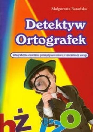 Okładka książki Detektyw Ortografek