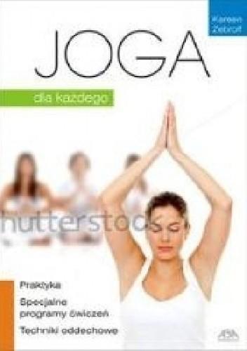 Okładka książki Joga dla każdego