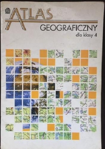 Okładka książki Atlas geograficzny dla klasy 4