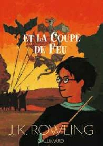 Okładka książki Harry Potter et la Coupe de Feu