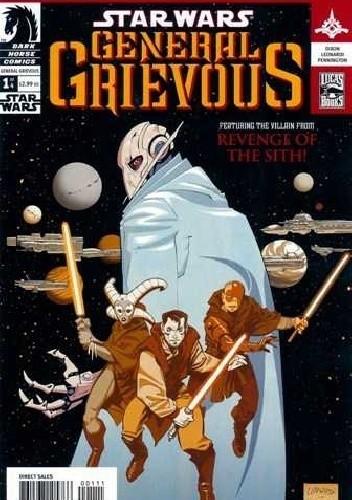 Okładka książki Star Wars: General Grievous #1