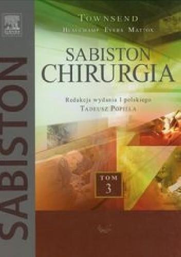Okładka książki Sabiston Chirurgia Tom 3