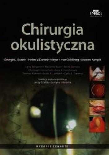 Okładka książki Chirurgia okulistyczna. Wydanie 4