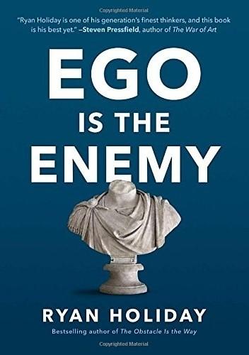 Okładka książki Ego Is the Enemy