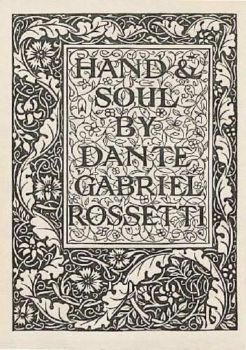 Okładka książki Hand and Soul