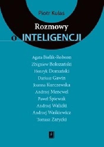 Okładka książki Rozmowy o inteligencji