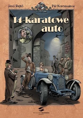Okładka książki 14-karatowe auto