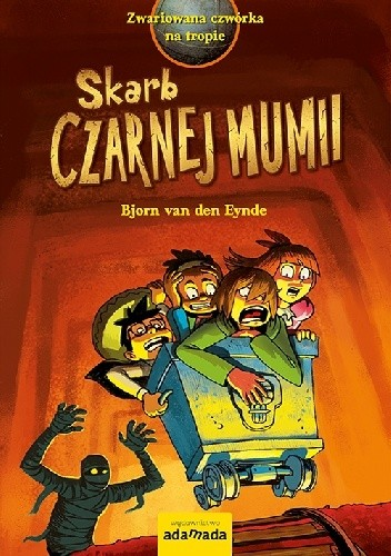 Okładka książki Skarb Czarnej Mumii
