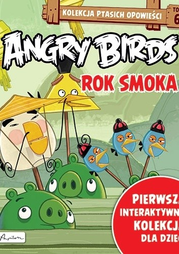 Okładka książki Angry Birds. Rok Smoka.