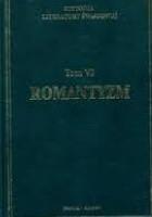 Historia literatury światowej w dziesięciu tomach. T. 6: Romantyzm
