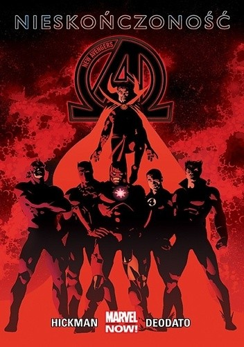 Okładka książki New Avengers: Nieskończoność