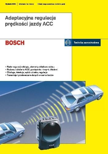 Okładka książki Adaptacyjna regulacja prędkości jazdy ACC