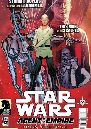 Okładka książki Star Wars: Agent of the Empire - Iron Eclipse #1