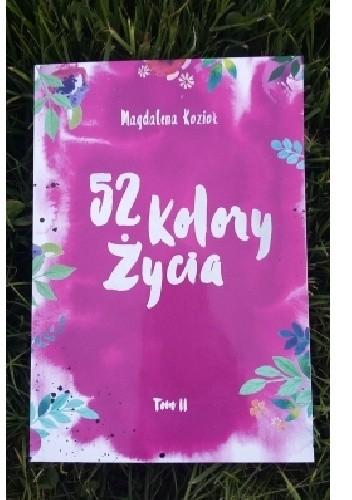 Okładka książki 52 KOLORY ŻYCIA t.2
