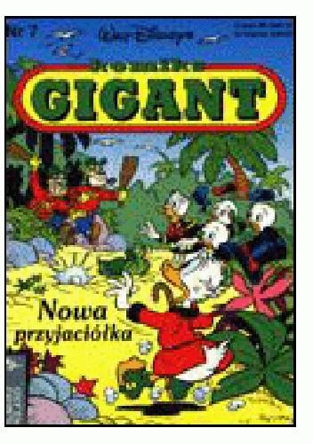 Okładka książki Gigant 7/1992: Nowa przyjaciółka