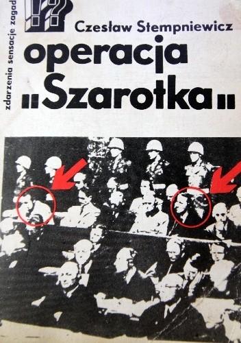 """Okładka książki operacja """"Szarotka"""""""