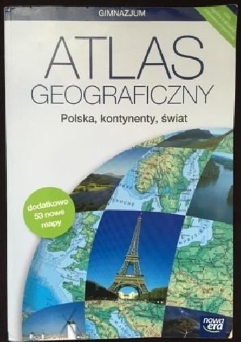 Okładka książki Atlas geograficzny. Polska, kontynenty, świat