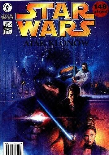 Okładka książki Gwiezdne Wojny Atak klonów
