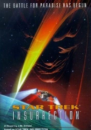 Okładka książki Star Trek: Insurrection
