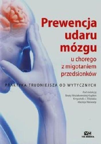 Okładka książki Prewencja udaru mózgu u chorego z migotaniem przedsionków