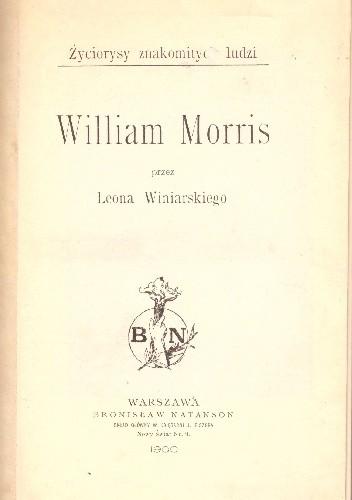 Okładka książki William Morris