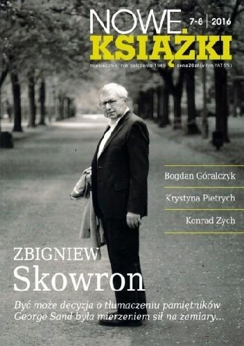 Okładka książki Nowe Książki nr 7-8/2016