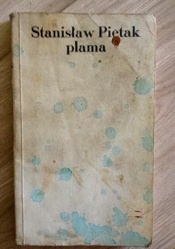 Okładka książki Plama