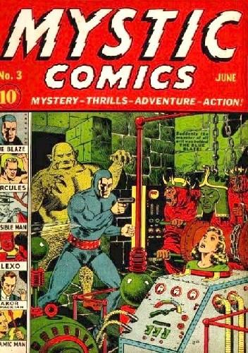 Okładka książki Mystic Comics #3