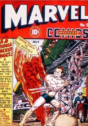 Okładka książki Marvel Mystery Comics #9