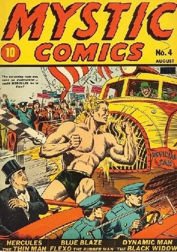 Okładka książki Mystic Comics #4
