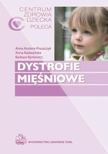 Okładka książki Dystrofie mięśniowe