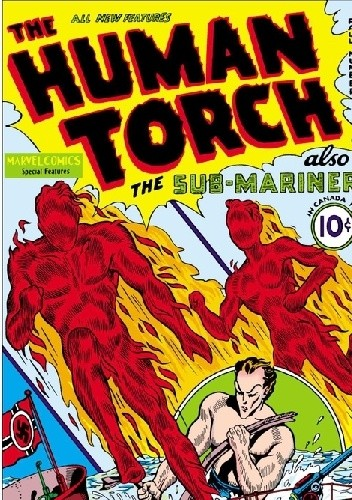 Okładka książki Human Torch Comics 1