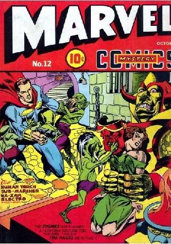 Okładka książki Marvel Mystery Comics 12