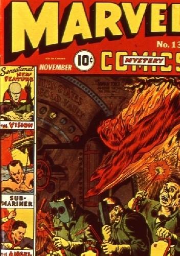 Okładka książki Marvel Mystery Comics 13