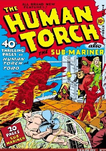 Okładka książki Human Torch #3