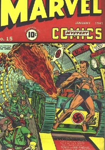 Okładka książki Marvel Mystery Comics 15