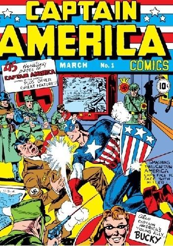Okładka książki Captain America Comics 1