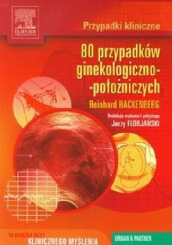 Okładka książki 80 przypadków ginekologiczno-położniczych