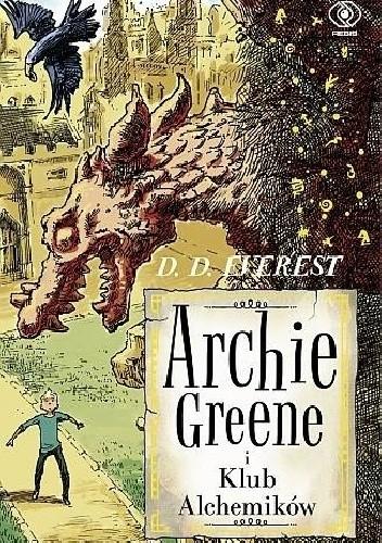 Okładka książki Archie Greene i Klub Alchemików