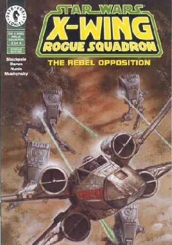 Okładka książki X-Wing Rogue Squadron #2