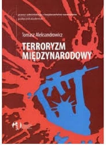 Okładka książki Terroryzm międzynarodowy