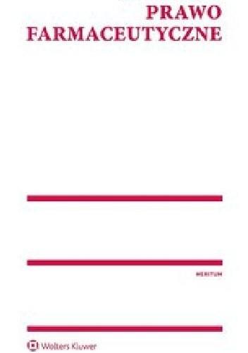 Okładka książki Meritum Prawo Farmaceutyczne