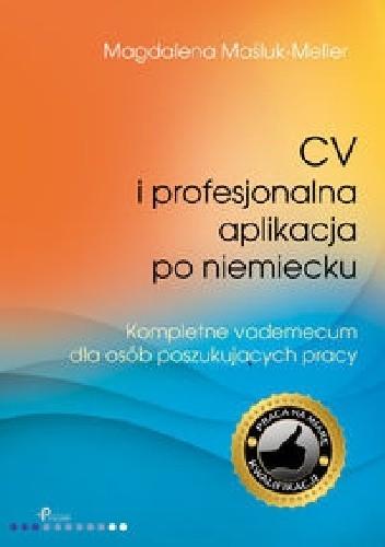 Okładka książki CV i profesjonalna aplikacja po niemiecku